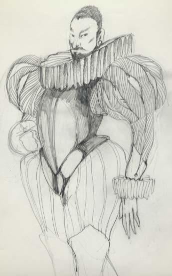 disegni acquerelli e olii Silvia Benfenati
