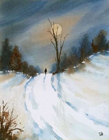 Paesaggi Invernali Dipinti Ad Acquerello