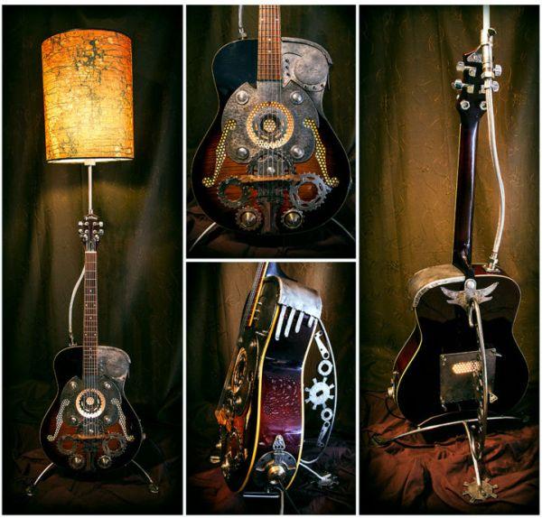 Steampunk-guitar Armen 71