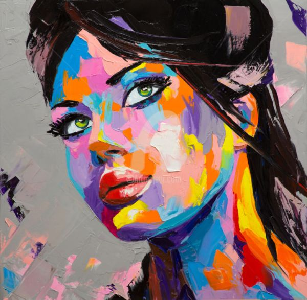 Painting On Canvas Abstract Art Faces