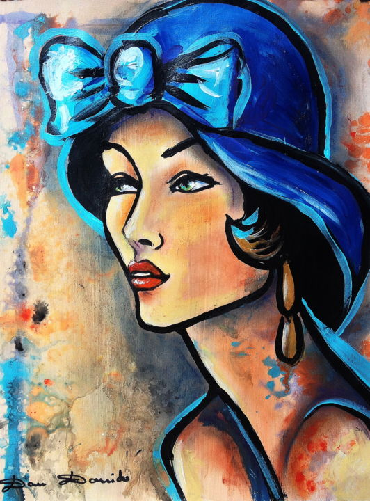 belle demoiselle painting by dam