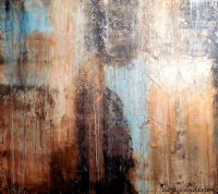 Large Wall Art Abstract Textured Painting (Holly Anderson)
