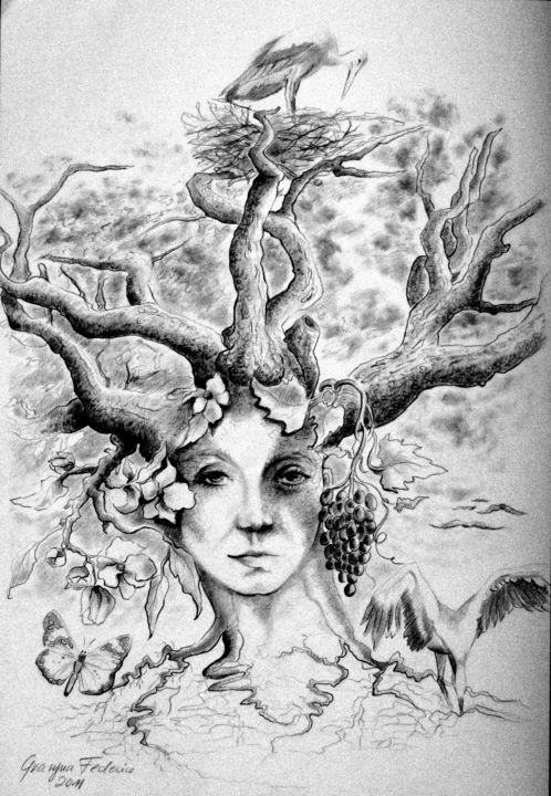 Baum des Lebens (Grazyna Federico)