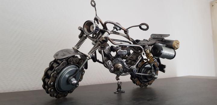 sculpture harley davidson skulptur von