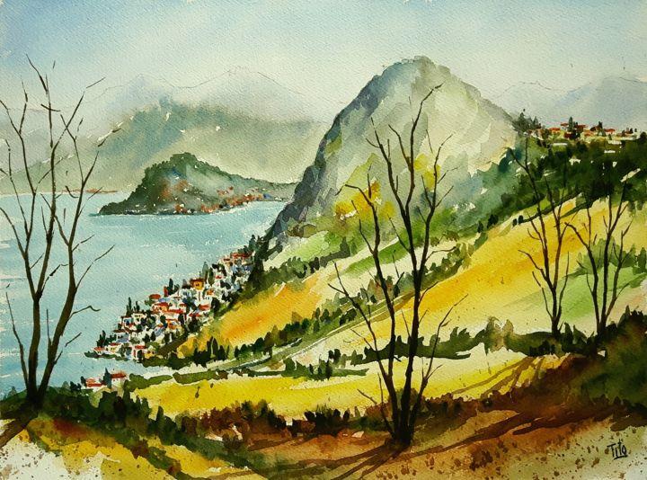 Paesaggio lariano Tito Fornasiero