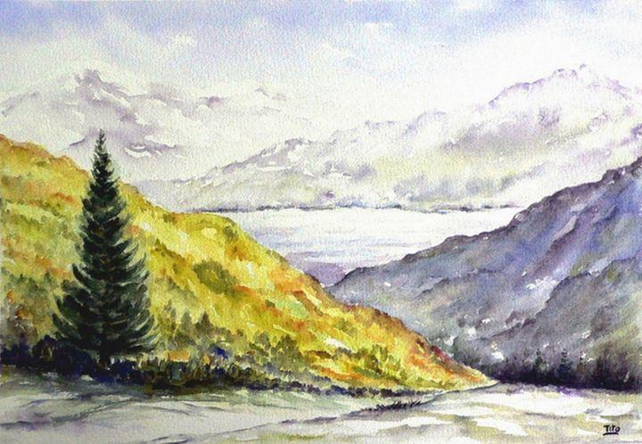 Paesaggio alpino Paesaggi  Landscapes