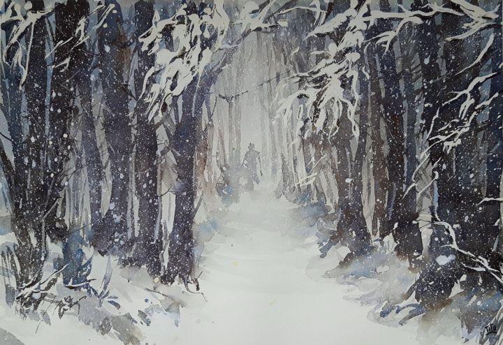 Paesaggio invernale 7 Paesaggi invernali  Winter landscapes