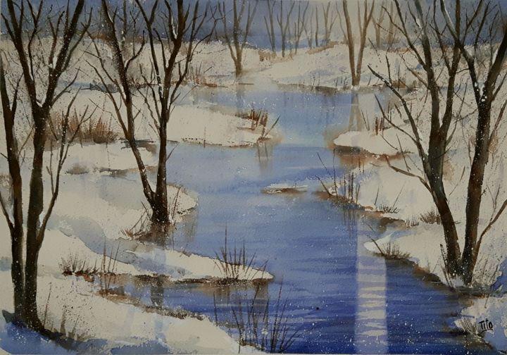 Inverno 18 Paesaggi invernali  Winter landscapes
