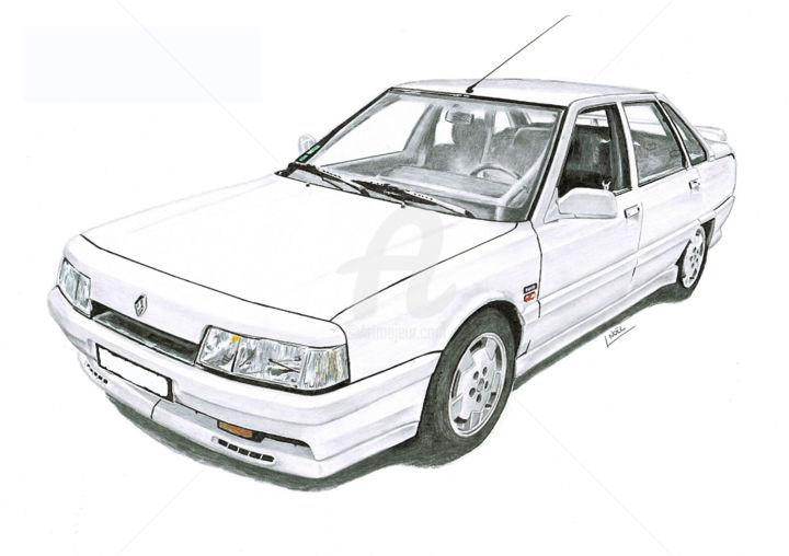 Renault 21 2Litres Turbo (dessinludo)