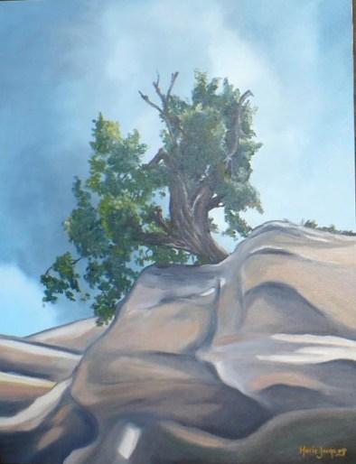 """""""Souvenirs de l'Utah - partie 1"""" 16 x 20/ch 2006"""