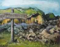 """""""Westmann"""" Acrylique et huile sur toile 16 x 20. 2010"""