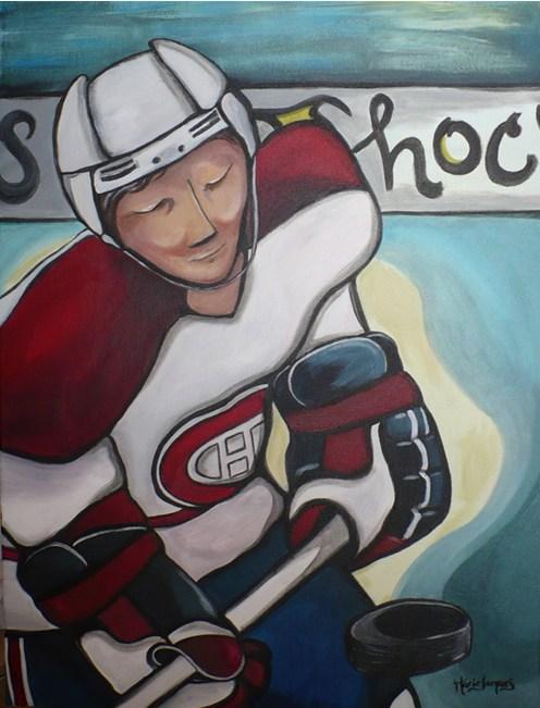 """""""Peinture sur glace"""" 2008 VENDU"""