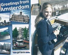 Greeting Amsterdam-Pays Bas