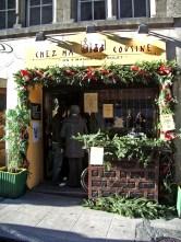 Le restaurant Chez ma cousine, on y mange du poulet
