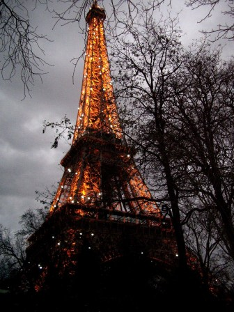 Fin de voyage à Paris