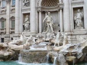 Fontaine de Trevi-Rome