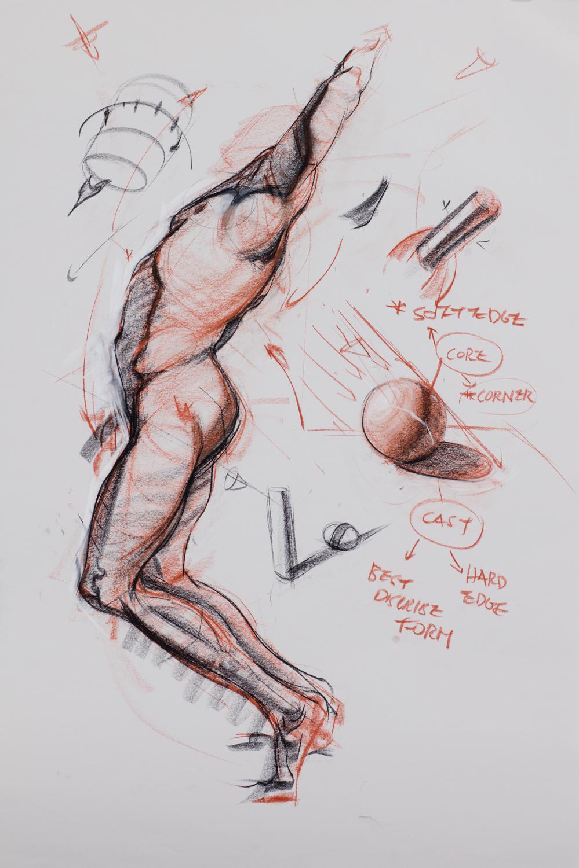 Beginning Figure Drawing with Charles Hu (ONLINE) | Art MentorsArt Mentors