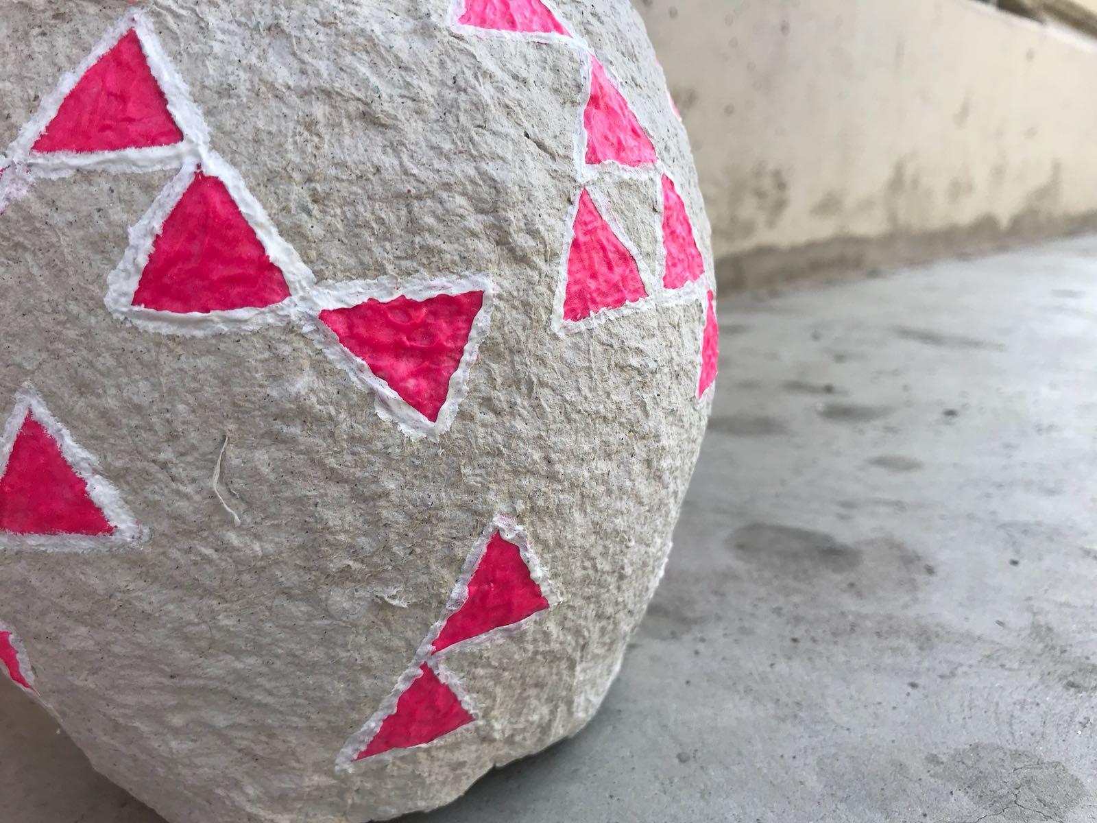 Pink háromszöges
