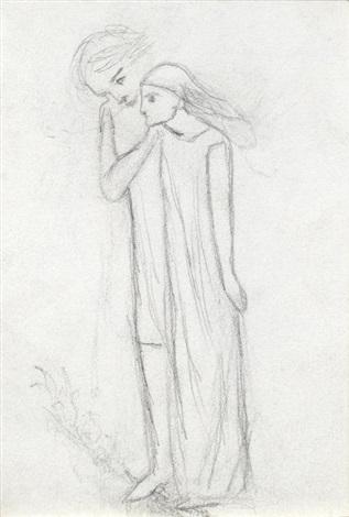 Study for La Belle Dame sans Merci by Elizabeth (Lizzi