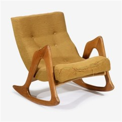 Adrian Pearsall Rocking Chair Slipcover For Armless Model 812 Cr By On Artnet