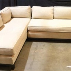 Gold Sectional Sofa Gus Jane Review Linen By Mitchell On Artnet