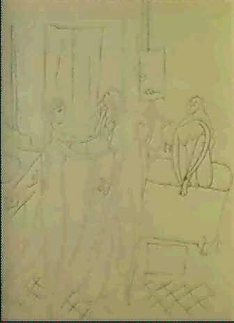 Femmes Dans Une Salle De Bain 15 Mars 1920 By Pablo Picasso On Artnet