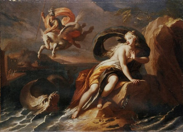 Perseus and Andromeda by Pietro del Po on artnet