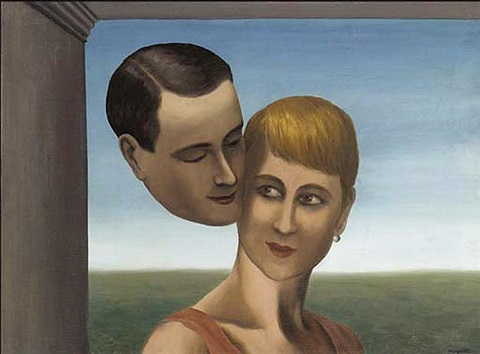 Image result for les amants III magritte