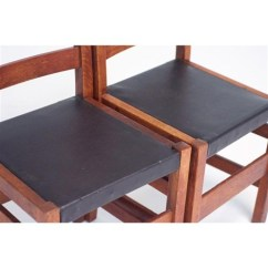 Ladderback Dining Chairs Used Round Tables And For Sale Ladder Back Set Of 4 By L J G Stickley On Artnet