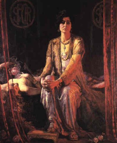 Herodias and her daughter by Ernest Lee Major (1881)