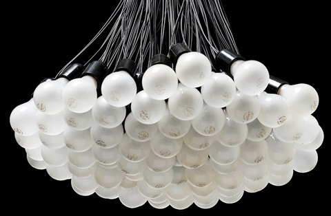 A Rody Graumans 85 Lamps Chandelier By