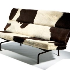 Eames Sofa Compact Suitable For Dogs Model 473 By Charles And Ray On Artnet