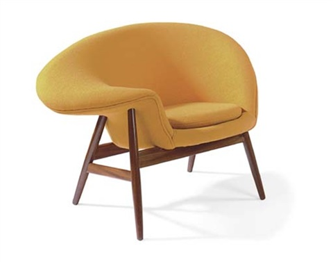 fried egg chair arts and crafts by hans olsen on artnet