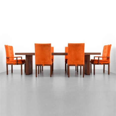 milo baughman dining chairs 4 chair set table 6 by on artnet