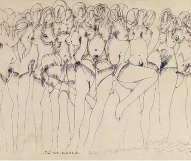 Ten Nudes Hundred Heads By Avinash Chandra