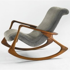 Vladimir Kagan Rocking Chair Baby Bjorn High Red And Black Contour Model No 175 F By On Artnet