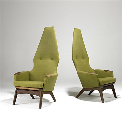 adrian pearsall lounge chair turquoise dining chairs pair by on artnet