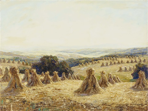wheat sheaves by otto