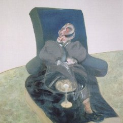Revolving Chair For Study White Chaise Lounge Cushions A Portrait On By Francis Bacon Artnet