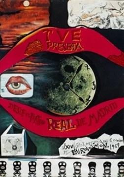 """Résultat de recherche d'images pour """"eurovision 1969 salvador dali"""""""