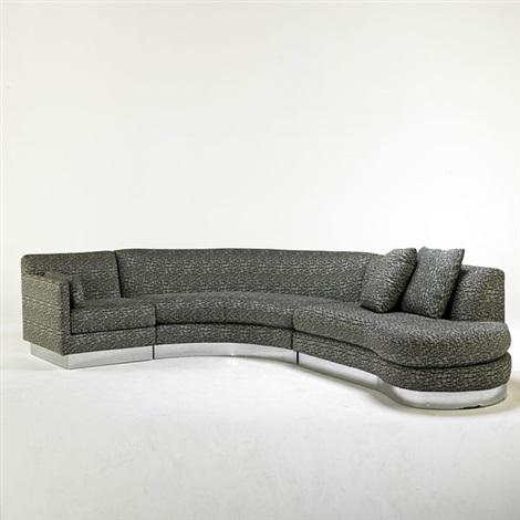 custom sectional sofa aspen pet bed for dogs highpoint by milo baughman on artnet