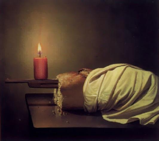 Stilleben mit Kerze by Siegfried Zademack on artnet