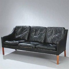 Borge Mogensen Sofa Model 2209 Small Leather Sofas For Rooms Freestanding Three Seater By On Artnet