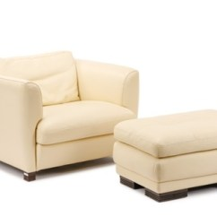 Leather Chair Ottoman Used Folding Chairs Cream By Roche Bobois On Artnet