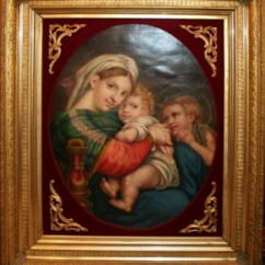 Madonna Of The Chair Front Porch Rocking By Raphael On Artnet