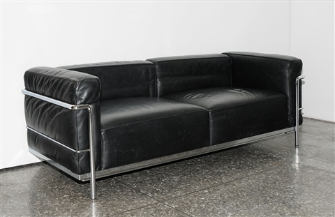 lc3 sofa restuffing cushions feathers grand confort zweisitzer by le corbusier charlotte perriand and pierre jeanneret
