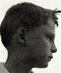 portrait of justin engels, gera by aenne biermann
