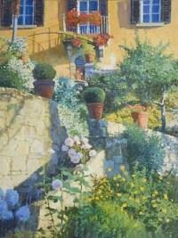 Terraced Garden, Tuscany by Nicholas Verrall on artnet