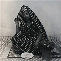 Une Amoureuse de The by Malick Sidibé