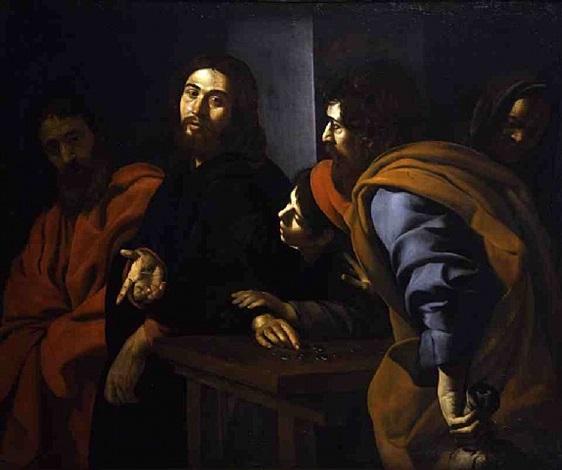 christ preaching to the disciples by giovanni battista caracciolo